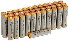 AmazonBasics AAA Performance Alkaline Batteries (36 Count) Brand: AmazonBasicsColor: GreyFeatures:  Pack of 36 AAA alkaline batteries Premium long lasting power Perfect for emergency supplies, toys, remote controls, or anything that takes AAA batteries 5 year shelf life.Ships in Certified Frustration-Free Packaging do not attempt to recharge   https://nemb.ly/p/Skjb2sUFkjW Published using Nembol