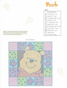 WINNIE THE POOH MAGNETS FOR YOU 7/18 (REPINNED ALL 18 PAGES FROM DONNA WERNER)