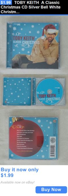 Christmas Songs And Album: Toby Keith A Classic Christmas Cd Silver Bell White Christmas Frosty 10 Songs BUY IT NOW ONLY: $1.99