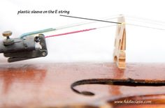 How to change a fiddle string - basic steps for changing the strings on your fiddle, including some of the pitfalls to avoid!