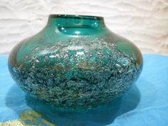 Vintage Vase Schott Zwiesel Florida – 1960s 1970s Design H. Löffelhardt – Green…