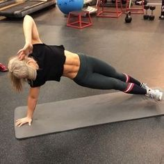 Obsessed with this ab circuit because I incorporated a lil bit of everything. Try this workout to not only hit your upper + lower abs, but…