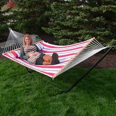 sunnydaze decor quilted double fabric 2 person hammock with stand size  48   h hammocks for two people   hammock stand double hammock and      rh   pinterest