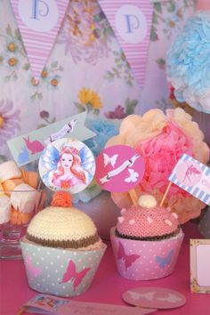 Fairy party toppers