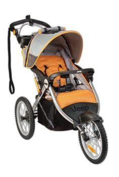 Jeep Overland Limited Jogging Stroller with Front Fixed Wheel Fierce:   Stands out in front of its competition with the iBaby Sound System. Both you and your baby can listen to music as you run. Simply attach your own portable audio electronics, like an iPod, and go! It has a front fixed wheel for better handling when jogging. Mom has all of her jogging essentials within reach: dual cup holder, music, speed and distance odometer, and most importantly, her baby.   http://amzn.to/overlandstrol...