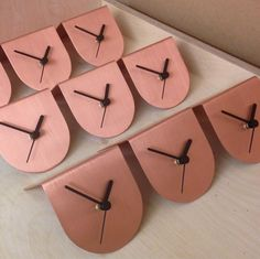 #copper #brush with #satin #lacquer #madebyGB #byShop #half #clock