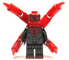 Lego Custom - - - - - - SUPERIOR SPIDERMAN - - - - - - - Spider-Man Spider Man
