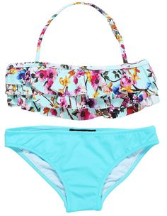8b57d7e8558b0 Shop At Stella Cove | Squirrel & Flower Bikini For Girls Cute Swimsuits,  Swimsuits For