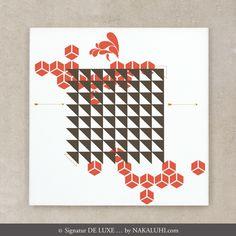 Artprint  - Druck / Print / Grafik / Muster / 30 x 30cm / ab 29 Euro www.nakaluhi.com #druck #bild# grafik #muster #papier #design #papeterie