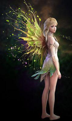 Elves Faeries Gnomes: More Fantasy Model, 3d Fantasy, Fantasy Kunst, Fantasy World, Fantasy Fairies, Fairy Dust, Fairy Land, Fairy Tales, Forest Fairy