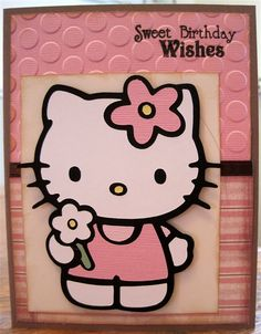 189 best hello kitty greetings images on pinterest hello kitty a spot to share my scrapbooking card making and cricut made creations find this pin and more on hello kitty greetings m4hsunfo