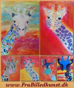 www.FruBilledkunst.dk - giraffes #giraffes #giraffelovers