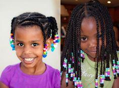 Little Girls Ponytail Hairstyles, Little Girl Ponytails, Twist Hairstyles, Pretty Hairstyles, Small Braids, Braids For Kids, Girls Braids, Different Braid Styles, Protective Style Braids