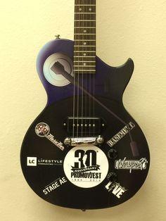 Custom promo guitar by Brand O' Guitar Company