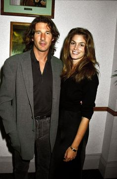 (not in movie, just in real life) Cindy Crawford & Richard Gere
