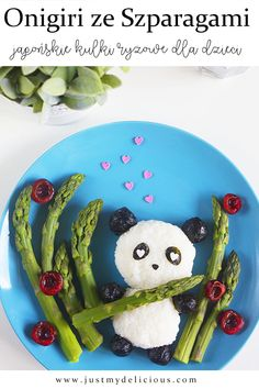 Onigiri Panda - Just My Delicious Cute Food, Good Food, Japanese Rice, Rice Balls, Avocado Recipes, Breakfast For Kids, Meals For Two, Avocado Toast, Food Art