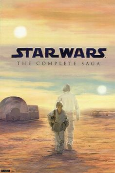Star Wars - Blu Ray Box Poster