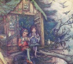 Peter Pan and Wendy's treehouse by SurrenderDorothy