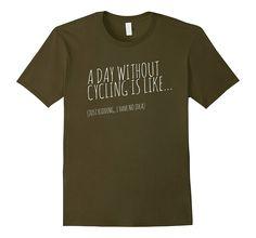 Funny road biking- cycling t shirt!