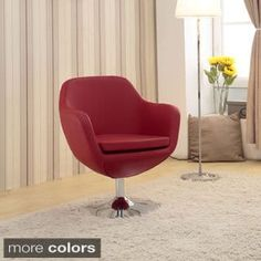 Marvelous Shop for Toledo Swivel Bicast Leather Chair Get free shipping at Overstock