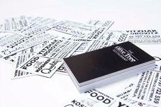 25+ Inspiring Restaurant Business Cards|iBrandStudio