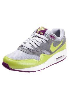 d98a1edf6ff voor Dames - Air Max 1 Essential - grijs wit en lichtgroen schoenen,Goedkope  Nike Air Max 1 Essential Dames