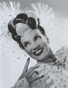 Don't put it past me to go all out Carmen Miranda!