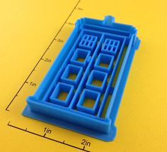 Dr Who Tardis Cookie Cutter. $6,50, via Etsy.
