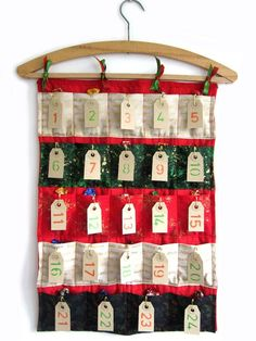 8 Awesome DIY Advent Calendar Tutorials with Detailed Step by Step Instructions : DIY Advent Calendar Sewing Tutorial