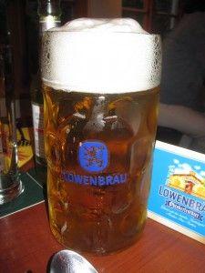 Maß Bier, Maß beer, mass bier, maß bier - Oktoberfest - Octoberfest beer. Great event in Bavaria every year! Tasty!