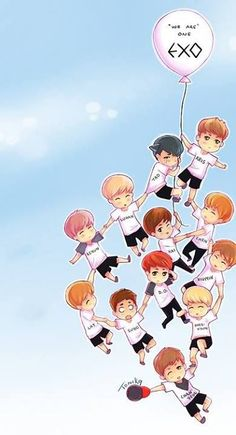 We are one! EXO
