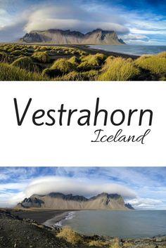 Vestrahorn Iceland - Stokksnes Iceland Pin