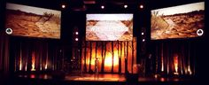 "Janine Dueck from Grace Community Church in Washingtonville, NY brings us these birth tree silhouettes. This design was for their series ""Into the Wilderness"". First, they built a tri-panel stage f..."