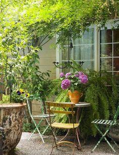 Ideas For Outdoor Seating Area Garden