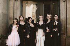 #Squadgoals at the Ace // Claire la Faye bride, Ash + Light bridesmaids!