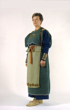 Folk Costume, Costumes, Viking Age, Medieval Clothing, Iron Age, Historical Costume, Design Reference, Finland, Culture