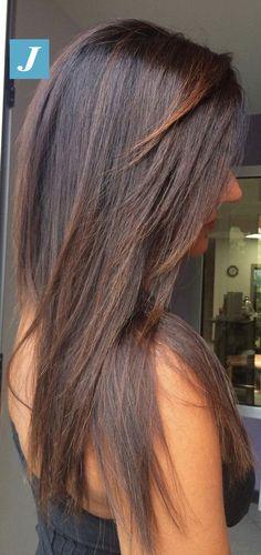 Degradé Joelle Brownie #cdj #degradejoelle #tagliopuntearia #degradé #igers #musthave #hair #hairstyle #haircolour #longhair #ootd #hairfashion #madeinitaly #wellastudionyc