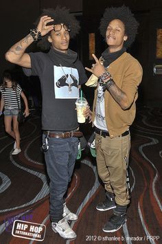 I dont use the word sexy to describe a lot, but thinking about these guys and all that they do, its the one word that pops up// LES TWINS//