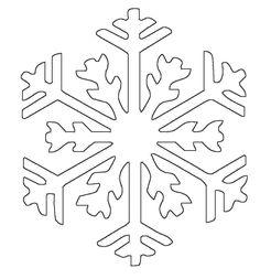 Malvorlage Schneeflocken Kostenlos