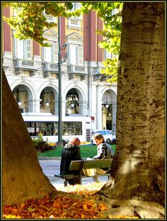 In Piazza Statuto a Torino