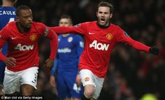 Juan Mata impressed on his first appearance for Manchester United after joining from Chelsea