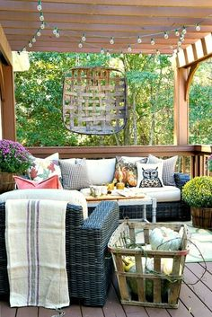 Savvy Southern Style: My Fall Deck and a Harvest Tour