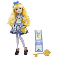 Ever After High Blondie Lockes Fashion Doll (80 AUD) ❤ liked on Polyvore featuring toys and characters