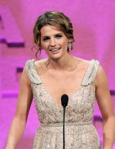 #StanaKatic presenting an award at the 65th Directors Guild Of America Awards (2012)