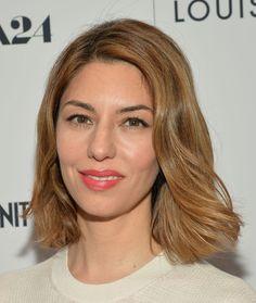 Sofia Coppola Hair color, cut