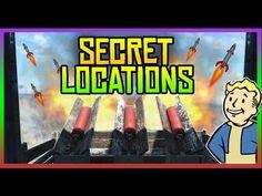 Fallout 4 Secret Locations - Active Missile Launcher, Races & More! (Fal...