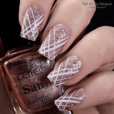 Nail Art By Belegwen: Perfect Sand Lacquer s78