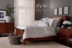 ethanallen.com - Ethan Allen   furniture   interior design   lifestyles   romance   bedroom. Light fixture.: