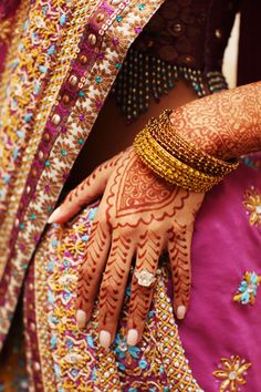 Indian Wedding Henna  See www.weddingsonline.in for wedding inspiration
