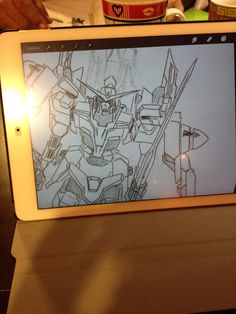 Gundam in process...
